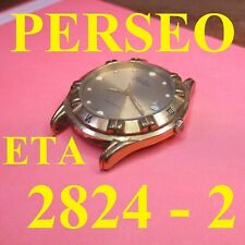orologio perseo eta 2824-2 oversize automatic old watch working running vintage