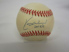 Kerry Wood Chicago Cubs Signed National League Baseball w/ inscription CAS COA