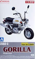 1978 Honda Gorilla Custom Z50 JZ-3 Takegawa Bike 1:12 Model Kit Aoshima 052211