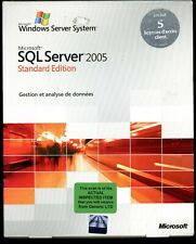 Inspected Box- 228-03985 Microsoft Windows SQL Server 2005 Standard 5 CAL FRENCH