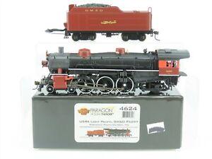 HO Broadway Ltd BLI 4624 GM&O Gulf Mobile Ohio 4-6-2 Steam Loco #5297 DCC Sound