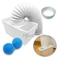 Condenser Vent Kit Box&Hose + Softener Balls for White Knight C4317WV Tumble Dry