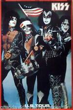 Kiss U.S. Tour 1976 Bicentennial Spirit Of 76 Poster Gene Simmons
