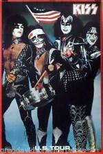 Kiss U.S. Tour 1976 Bicentennial Spirit Of 76 Poster Gene Simmons