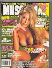 MUSCLEMAG SWIMSUIT MUSCLE Bodybuilding Magazine/Angie Chittendon 3-01 #225