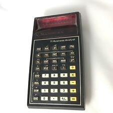 Vintage Texas Instruments Ti Business Analyst Calculator Led
