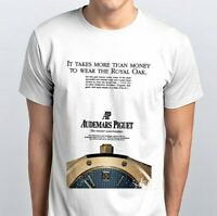 Audemars Piguet Royal Oak Vintage Horology Gents T-shirt Size M/L-Brand New!