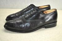 Allen Edmonds Fifth Avenue Cap Toe Balmoral Oxford Burgundy Leather Men 8.5 D