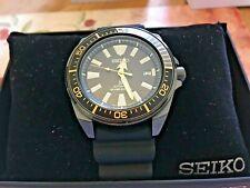 NEW!  Seiko PROSPEX Samurai Automatic Men's Black Diver Watch SRPB55K1
