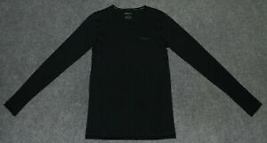 CRAFT WOMEN'S SEAMLESS TOUCH L/S SHIRT Fitted Running Training Black sz M Shirt