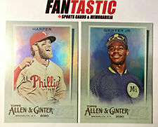 2020 Topps Allen & Ginter SILVER Parallel Card YOU PICK Base & SP Short Print