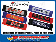 Pair 2 Pieces Mtec WRX RED Car Seat Belt Shoulder Pads Cushion Fit