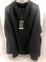 Nike Therma Sphere Dri-Fit Half Zip Jacket Water Repel 860517-010 XL $250 NEW