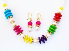 Indian Kids Pearl Necklace Earrings Baby Girls's Bracelets Children's Jewelry