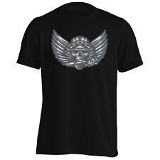 Ghost Rider Cráneo Biker Para Hombres Camiseta/Camiseta sin mangas u654m