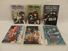 Lot of 6 Manga Anime Graphic Comic Books Magatokyo Infinite Ryvius
