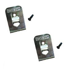 DeWalt OEM N268241 N169778 (2-Pack) belt clip/hook for 20V DCD980 DCD985 DCD791