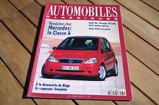 AUTOMOBILES CLASSIQUES n° 81 MEGA - AUDI S8 PORSCHE 911 S4 - ALESI TRES BON ETAT