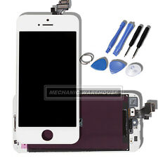 Retina LCD Touch Screen Digitizer Display Lens For Apple iPhone 5 5th Gen White