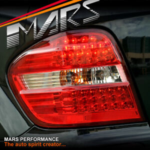 Clear Red LED Tail Lights for Mercedes-Benz ML W164 ML500 ML350 ML320 ML280 ML63