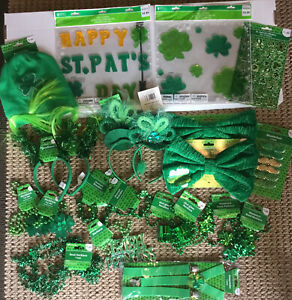 St Patrick's Day Party Pack/Decorations - New