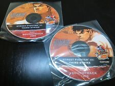 Street Fighter 3 III Third 3rd Strike Soundtrack OST GAME MUSIC CD 2 Disc Capcom