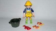 Playmobil Sobres Sorpresa Series 10 Ref 6841 Mujer Mariscadora, Mar, Coleccion
