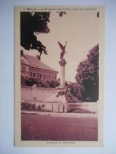 """CPA """"Meaux - Le monument des enfants morts pour la patrie"""""""