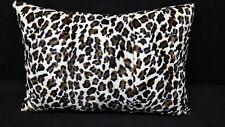 30 x 30 Floor Pillow Cover Leopard Faux Fur Animal Print large pillow / Dog bed
