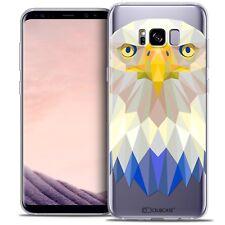 Coque Housse Etui Pour Samsung Galaxy S8+/ Plus (G955) Polygon Animal Souple Fin