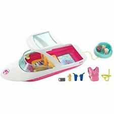Dolphin Playsets Magic Ocean View Boat - Take Doll Her Friends For Water Ride