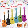 IRIN 21'' Rainbow Soprano Basswood Ukulele Uke Children's Little Guitar Kids