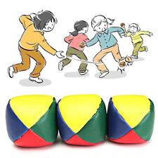 Juggling Balls Classic Bean Bag Juggle Magic Circus Beginner Kids Toy NI5L