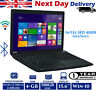"Toshiba Satellite C50 15.6"" Laptop Intel i3 3rd-G 2.4Ghz 4GB RAM 500GB HDD Win10"