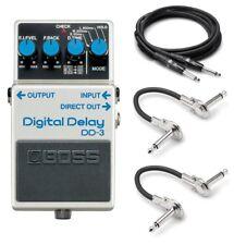 New Boss DD-3 Digital Delay Guitar Pedal! FREE Hosa Cables!