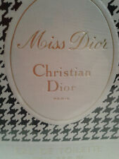 Vintage Miss Dior. Christian Dior Paris Eau de Toilette 108ml Sealed.