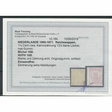 Nederland 16B Wapens 1,5ct roze  MH/ongebr  CV  225 € met BEFUND