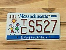 Massachusetts Invest in Children License Plate