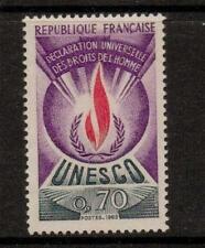 La Francia sgu12 1969 UNESCO 70c Gomma integra, non linguellato