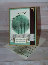 Stampin up- MASCULINE WOODS -  Card Kit- Set of 4---