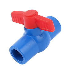 20mm to 20mm Handle Full Port Pipe Connector Adapter PVC Ball Valve P6P4