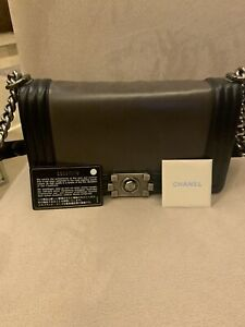 Chanel Boy Bag  1st Edition Le Boy Bag from 2012 With Auth Card And Dust Bag