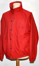 SUPERB BURBERRY'S OF LONDON MEN'S SHORT WINDBREAKER SIZE M RED