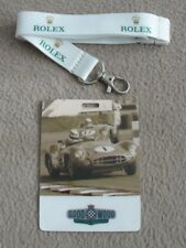 ROLEX LANYARD + GOODWOOD REVIVAL GUEST TAG - NEW