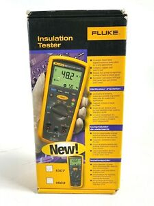 FLUKE 1507 Digital Megohmmeter INSULATION RESISTANCE TESTER Standard NEW IN BOX!