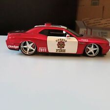 Dodge Challenger  Rescure Force County Fire 2008 MAISTO 1:24 SCALE DIECAST