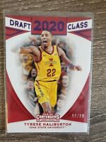 2020 Panini Contenders Draft Picks *Tyrese Haliburton* Iowa State Purple *90/99