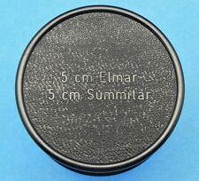 Leica Black Bakelite Case for SM 5cm Elmar,Summitar  #1