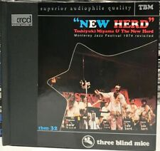 XRCD CD TBM XR-0032: Toshiyuki Miyama & The New Herd - 1998 Japan OOP NM