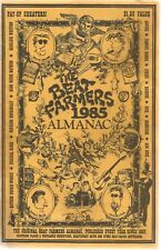 Beat Framers 1985 Almanac * by The Beat Farmers (1985) Original Signed